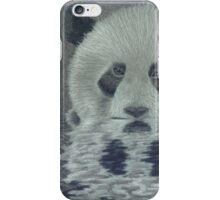 Panda in the Water iPhone Case/Skin