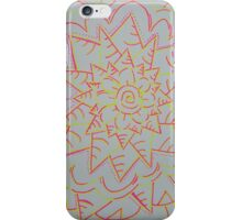 Pink and Yellow Flower Power iPhone Case/Skin