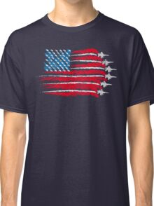 The flag of freedom Classic T-Shirt