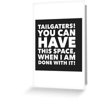 Tailgaters Greeting Card
