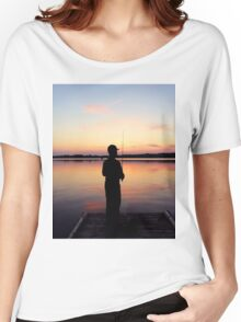 Lake Sunset Women's Relaxed Fit T-Shirt