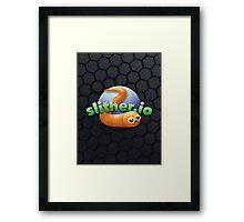 Slither.io Framed Print