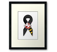 GB Tribute Ribbon Ver.2 (Face) White Framed Print