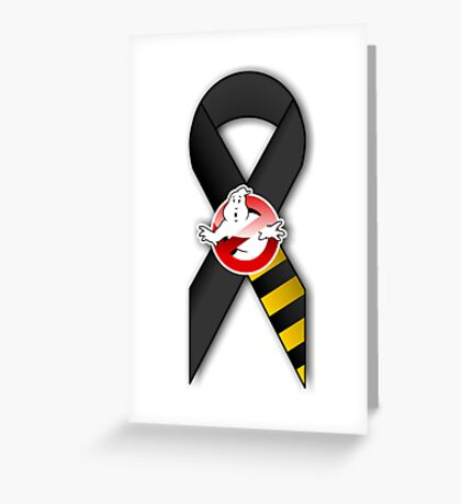 GB Tribute Ribbon Ver.2 (Face) White Greeting Card