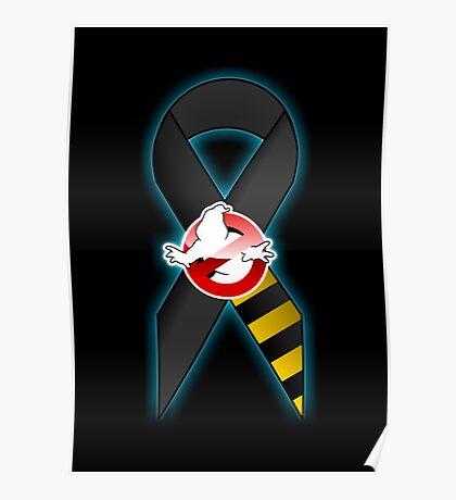 GB Tribute Ribbon Ver.2 (No Face) Black Poster