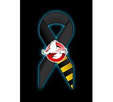 GB Tribute Ribbon Ver.2 (No Face) Black Photographic Print