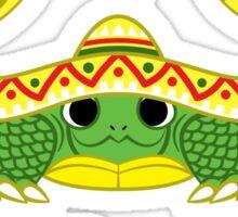 Turtle Sombrero Sticker