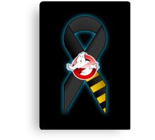 GB Tribute Ribbon Ver.2 (Face) Black Canvas Print