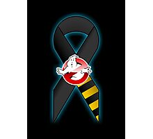 GB Tribute Ribbon Ver.2 (Face) Black Photographic Print