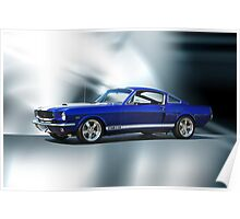 1965 Shelby Mustang GT350 Poster