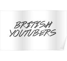British Youtubers! Poster