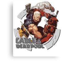 Cable & Deadpool • Best Friends 4 Ever Canvas Print