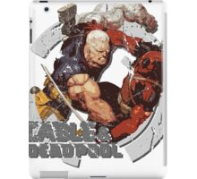 Cable & Deadpool • Best Friends 4 Ever iPad Case/Skin