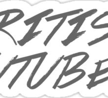 British Youtubers! Sticker