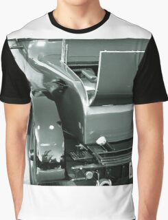 Back Of A Vintage Car Graphic T-Shirt