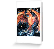 From Ashes Greeting Card