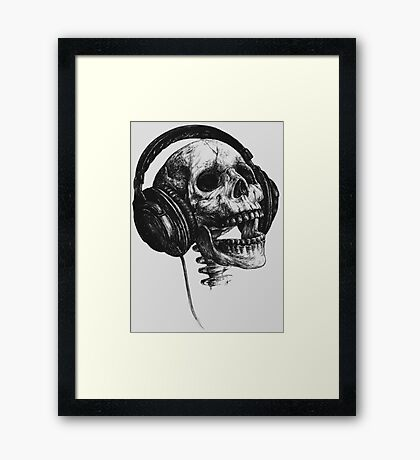 Music forever Framed Print