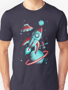 Retro Space Unisex T-Shirt
