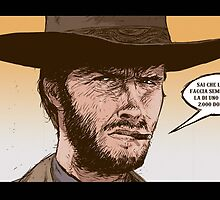 THE GOOD, THE UGLY AND THE BAD- SERGIO LEONE by ATOMICBRAIN