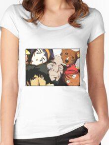 COWBOY BEBOP #01 Women's Fitted Scoop T-Shirt