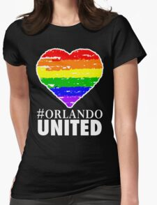 Orlando United One Pulse One Love  Womens Fitted T-Shirt