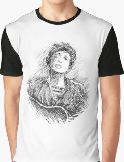 BOB DYLAN PORTRAIT IN INK Graphic T-Shirt