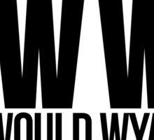 What Would Wyatt Do? Inspired by Wynonna Earp Sticker