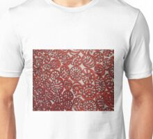 RED ROLLERS ABSTRACTHING Unisex T-Shirt