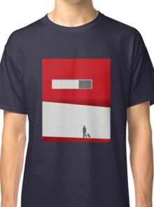 Funky Little Red Building Classic T-Shirt
