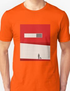 Funky Little Red Building Unisex T-Shirt