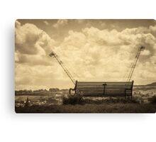 Bench on Calton Hill Canvas Print