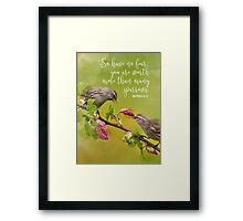 Matthew 10:31 Framed Print