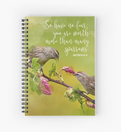 Matthew 10:31 Spiral Notebook