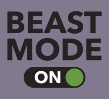 Beast Mode On by DesignFactoryD