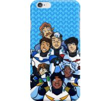 Family Portrait in Space iPhone Case/Skin