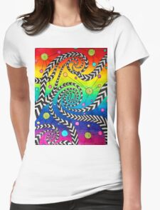 'Crossing Minds' Womens Fitted T-Shirt