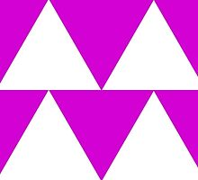 Pink Triangle Pattern by Scott Mitchell