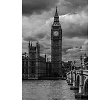 Big Ben - black & white Photographic Print