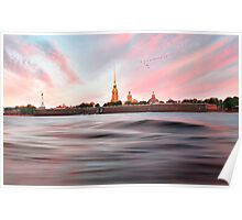 Peter & Paul Fortress Poster