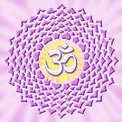 7th Chakra Symbol - Crown by haymelter