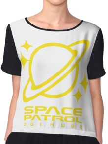 Space Patrol Ogikubo - Yellow Chiffon Top