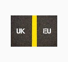 Antonym concept of UK United Kingdom versus EU EUROPEAN UNION Unisex T-Shirt
