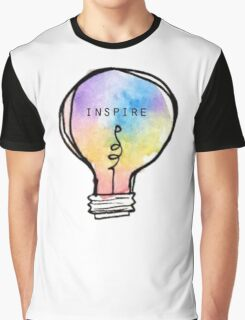 Inspire lightbulb Graphic T-Shirt