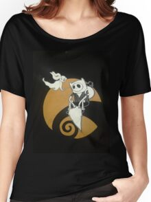 adventure time with jack skellington nightmare before christmas Women's Relaxed Fit T-Shirt