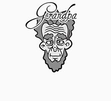 Wrinkly old Grandpa with beard face T-Shirt