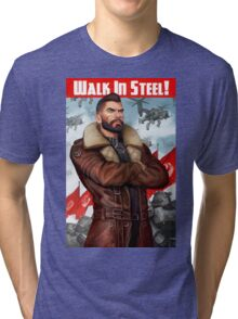 Walk in Steel Tri-blend T-Shirt