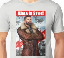 Walk in Steel Unisex T-Shirt