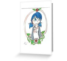 Miraculous Marinette Greeting Card