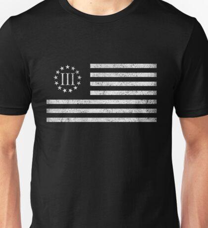 III Percent Oath Keepers Unisex T-Shirt