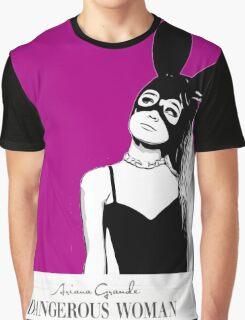 Cartoon Art Ariana Grande Dangerous Woman Graphic T-Shirt